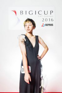 2016 BIGICUPモデル部門優勝